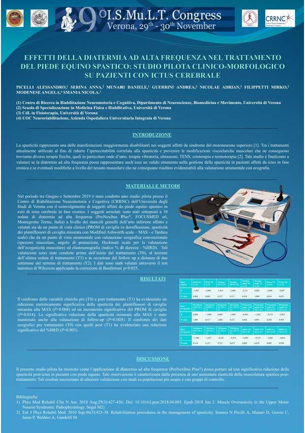 Diatermia ad alte frequenze - ProNexibus Plus - UniVr